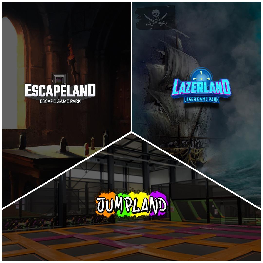 3 Espaces jumpland